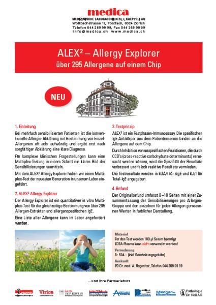 ALEX Allergy Explorer