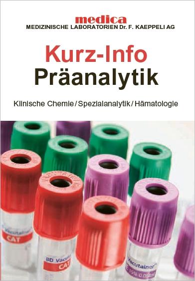 Präanalytik Klinische Chemie