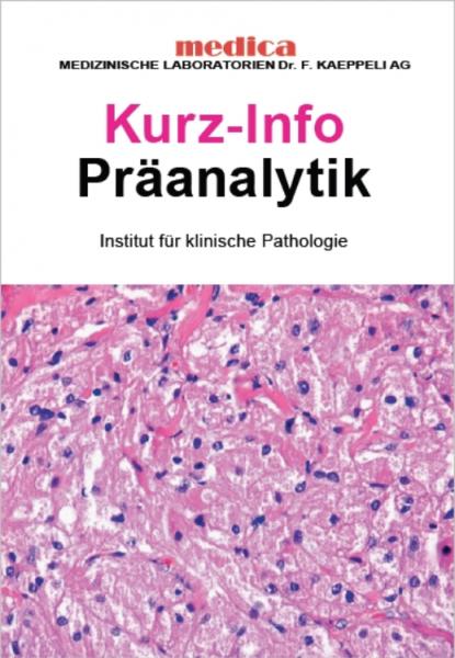 Präanalytik Pathologie